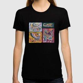 Alebrijes Animals - Natural Tint T-shirt