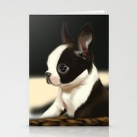 puppy Stationery Cards featuring Puppy by EliseBrave