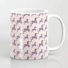 African pink zebras Coffee Mug