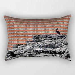 sea motifs animal Rectangular Pillow