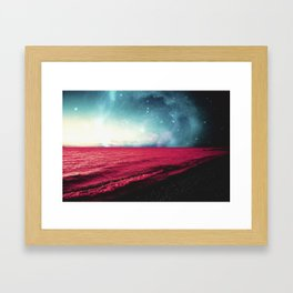 Neptune's Shores Framed Art Print