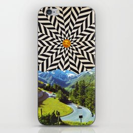 Energy forest iPhone Skin
