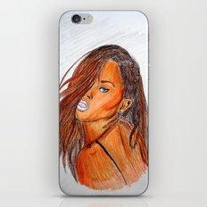 BAD GIRL RIRI  iPhone & iPod Skin