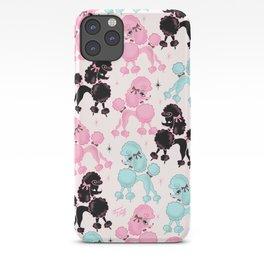 Poodlerama Retro Poodles iPhone Case