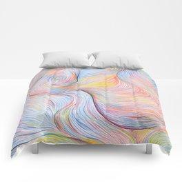 Wind I - Colored Pencil Comforters