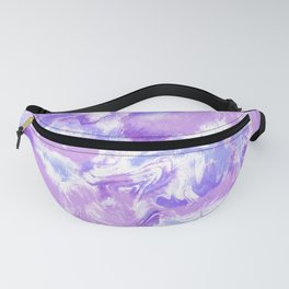 Marble Mist Lilac Fanny Pack