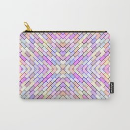 pastel brick pattern Carry-All Pouch