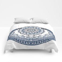mandala doodle 0020 Comforters