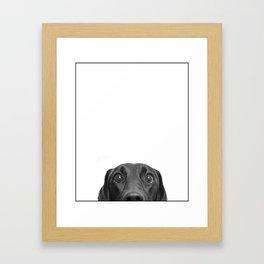 Who ME? Framed Art Print