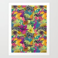 wondergarden Art Print