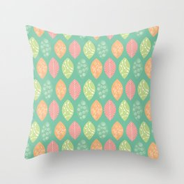 leafes Throw Pillow