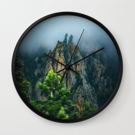 Wasatch Mountains, No. 2 Wall Clock