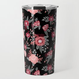 Floral Bama alabama crimson tide pattern gifts for university of alabama students and alumni Travel Mug