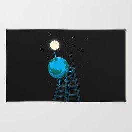 Reach the moon Rug
