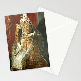 Peter Paul Rubens - Jeanne d'Autriche, grande duchesse de Toscane, mre de Marie de Medicis Stationery Cards