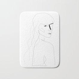 Face Of Art Bath Mat