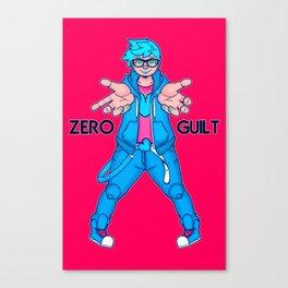 Zero Guilt  Canvas Print