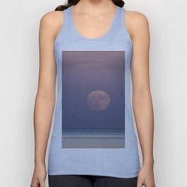 Sunset Moonrise Unisex Tank Top