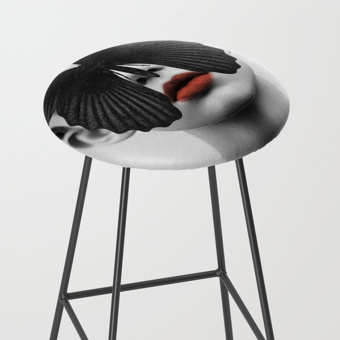 BLACK BUTTERFLY Bar Stool