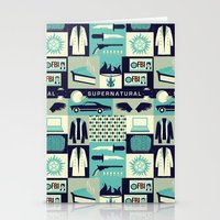 risa rodil Stationery Cards featuring Carry on my wayward son by Risa Rodil