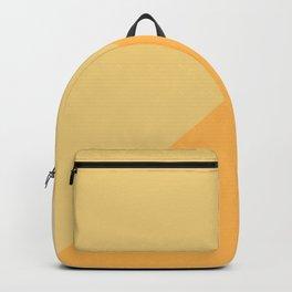 Yellow Geometric Backpack