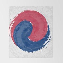 Yin-Yang Inclusive Throw Blanket
