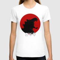 godzilla T-shirts featuring Godzilla by 100rings