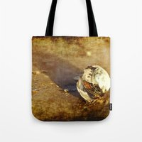 seashell Tote Bags featuring Seashell by Svetlana Sewell