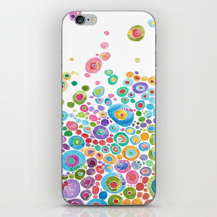 Inner Circle - white iPhone Skin