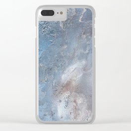 Copper Cloud Clear iPhone Case