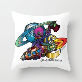 Dr Strangeopus Throw Pillow