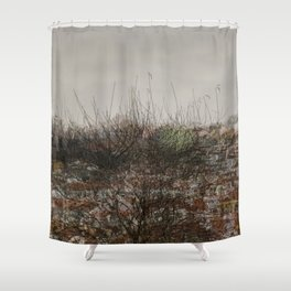 Deconstruction #4 Shower Curtain