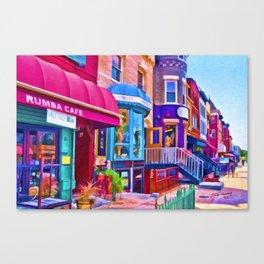 Creative Walk Canvas Print