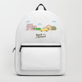Time To Go Back To School Backpack