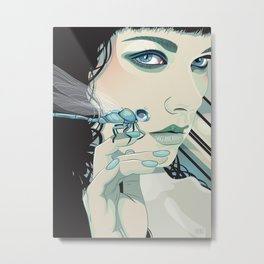 """The Dragonfly"" Metal Print"