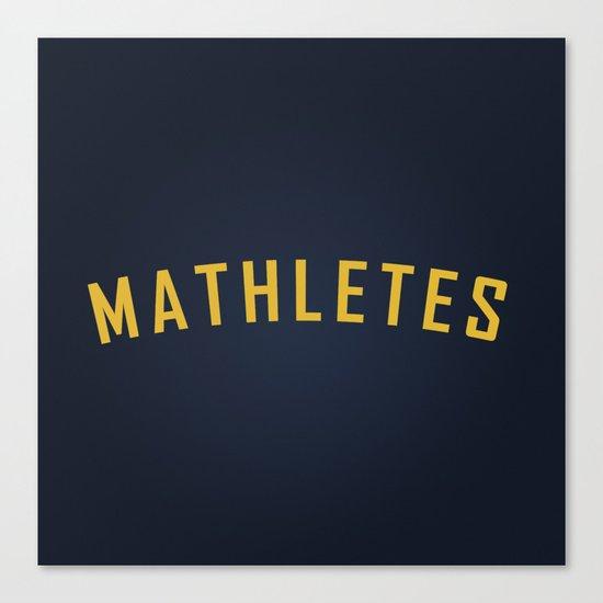 Mathletes - Mean Girls movie Canvas Print