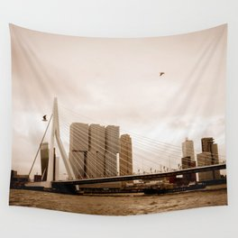 The Erasmus Bridge Wall Tapestry