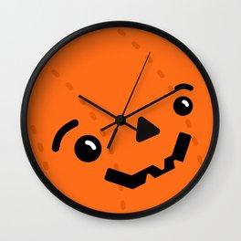 Jack o' Pumpkin Wall Clock