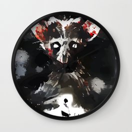 Cannibal Monster Wall Clock