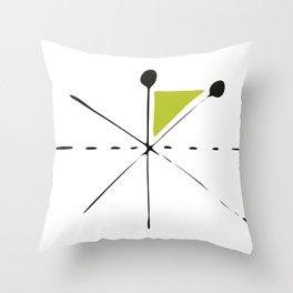 serge-pichii-abstract-00003 Throw Pillow