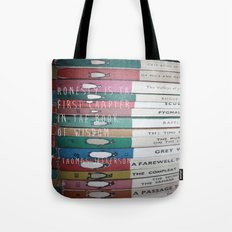 Honesty is the first chapter in the book of wisdom. Tote Bag