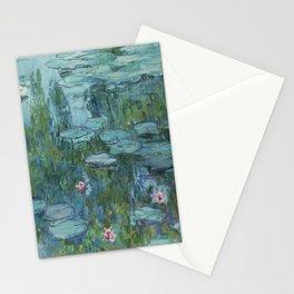 Monet, Water Lilies, Nympheas, Seerosen, 1915 Stationery Cards