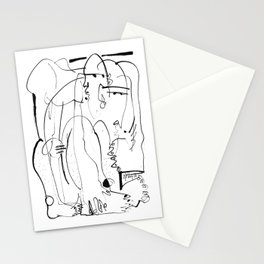 Therapy - b&w Stationery Cards