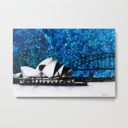 An Opera Night Metal Print