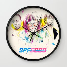 SPF 5000's 'Take My Picture' Wall Clock