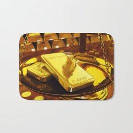 Gold investment Bath Mat