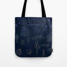 Cat Western - Dusk Tote Bag