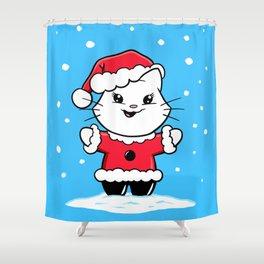 A Gumdrop Christmas! Shower Curtain