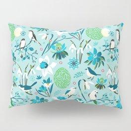 Finally Easter! [blue'n rose] Pillow Sham