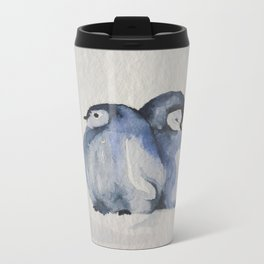2 cold Metal Travel Mug